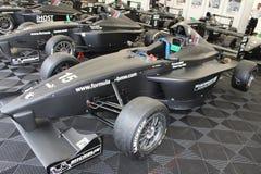 De raceauto's van formulebmw in Oschersleben, Duitsland royalty-vrije stock afbeeldingen