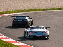 De raceauto's van GT Royalty-vrije Stock Afbeeldingen