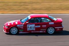 De raceauto van BMW M3 Stock Foto's