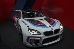 De raceauto van BMW M6 GT3 Stock Afbeeldingen