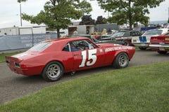 De raceauto van Chevrolet Camaro Stock Afbeeldingen