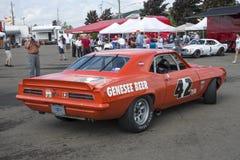 De raceauto van Chevrolet Camaro Royalty-vrije Stock Foto's