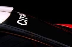De raceauto van Citroën C3 WRC Rallye Stock Afbeeldingen