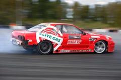 De raceauto van de afwijking Royalty-vrije Stock Afbeeldingen