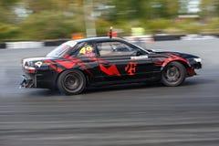 De raceauto van de afwijking Stock Foto's