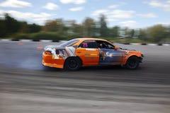 De raceauto van de afwijking Royalty-vrije Stock Fotografie