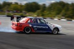 De raceauto van de afwijking Royalty-vrije Stock Foto's
