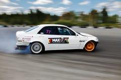 De raceauto van de afwijking Royalty-vrije Stock Afbeelding