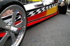 De raceauto van de belemmering stock foto's