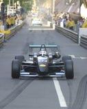 De raceauto van de formule in de stad Royalty-vrije Stock Foto's