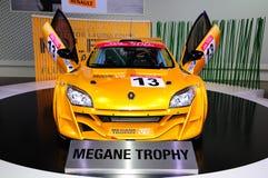 De raceauto van de Trofee van Renault Megane Royalty-vrije Stock Foto's