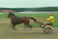 De Raceauto van de uitrusting in Motie Royalty-vrije Stock Fotografie