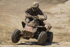 De Raceauto van de Vierling ATV Stock Fotografie