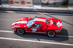 De raceauto van Ford GT40 Royalty-vrije Stock Foto's
