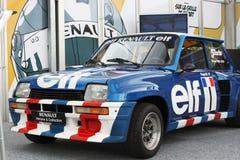 De Raceauto van het Elf van Renault Stock Fotografie