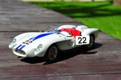 De raceauto van het het Pontonstootkussen van Ferrari Testa Rossa - geopende deur Stock Fotografie
