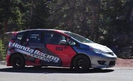 De Raceauto van Honda Stock Foto