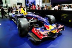 De raceauto van Infiniti F1 Stock Foto