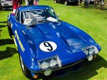 1966 de Raceauto van Korvetpenske Stock Foto's