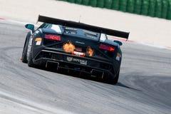 DE RACEAUTO VAN LAMBORGHINI GALLARDO GT3 Stock Afbeeldingen