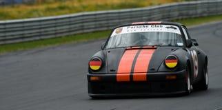De Raceauto van Porsche 911SC stock afbeeldingen