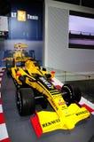 De raceauto van Renault F1 Stock Fotografie