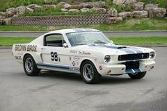 De Raceauto van Shelby stock foto's