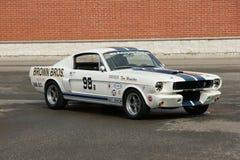 De Raceauto van Shelby stock foto