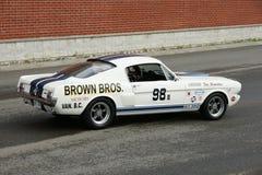 De Raceauto van Shelby stock afbeelding