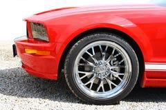 De raceauto van sporten royalty-vrije stock afbeeldingen