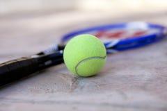 De racket van de tennisbal Royalty-vrije Stock Afbeelding