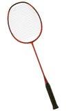 De racket van het badminton Stock Foto's