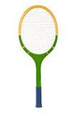 De racket van het tennis Stock Fotografie