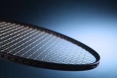 De racket van het tennis Stock Foto