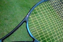 De racket van het tennis Stock Afbeeldingen