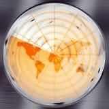 De Radar van de wereld royalty-vrije illustratie