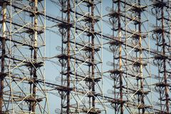 De Radar van Tchernobyl Duga Stock Foto