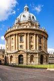 De Radcliffecamera is de bouw van de Universiteit van Oxford Oxfordshire Royalty-vrije Stock Afbeelding