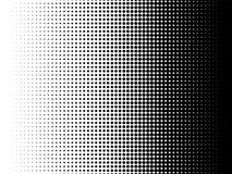 De radiale halftone vectorachtergrond van de patroontextuur royalty-vrije illustratie