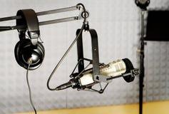 De radio apparatuur van DJ Stock Afbeeldingen
