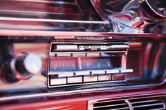 De radio van de auto Stock Afbeelding