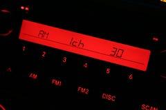 De radio van de auto royalty-vrije stock afbeeldingen