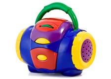 De radio van het stuk speelgoed Stock Afbeeldingen