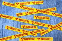 De radioactieve Achtergrond van de Straling Royalty-vrije Stock Afbeelding