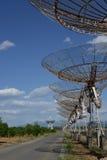 De radiotelescoop van Lovell Stock Fotografie