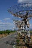 De radiotelescoop van Lovell Royalty-vrije Stock Foto