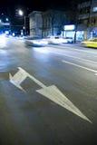 De raffic tekens van de weg stock foto