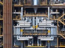 De raffinaderij van de architectuur Stock Afbeeldingen