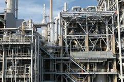 De raffinaderij van de olie Stock Foto's