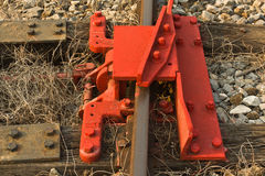 De Rail细节  库存图片